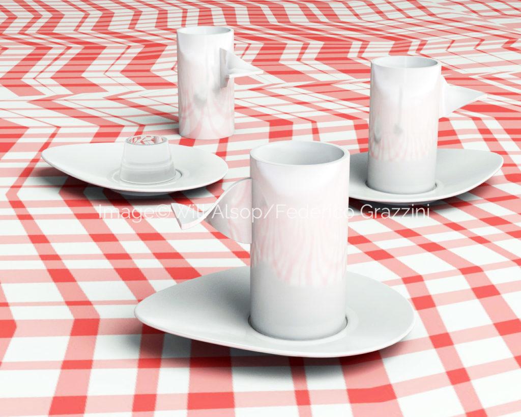 Hazel Coffee Cup Alessi